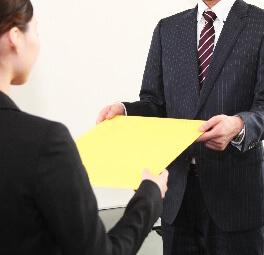登記書類のお引渡し