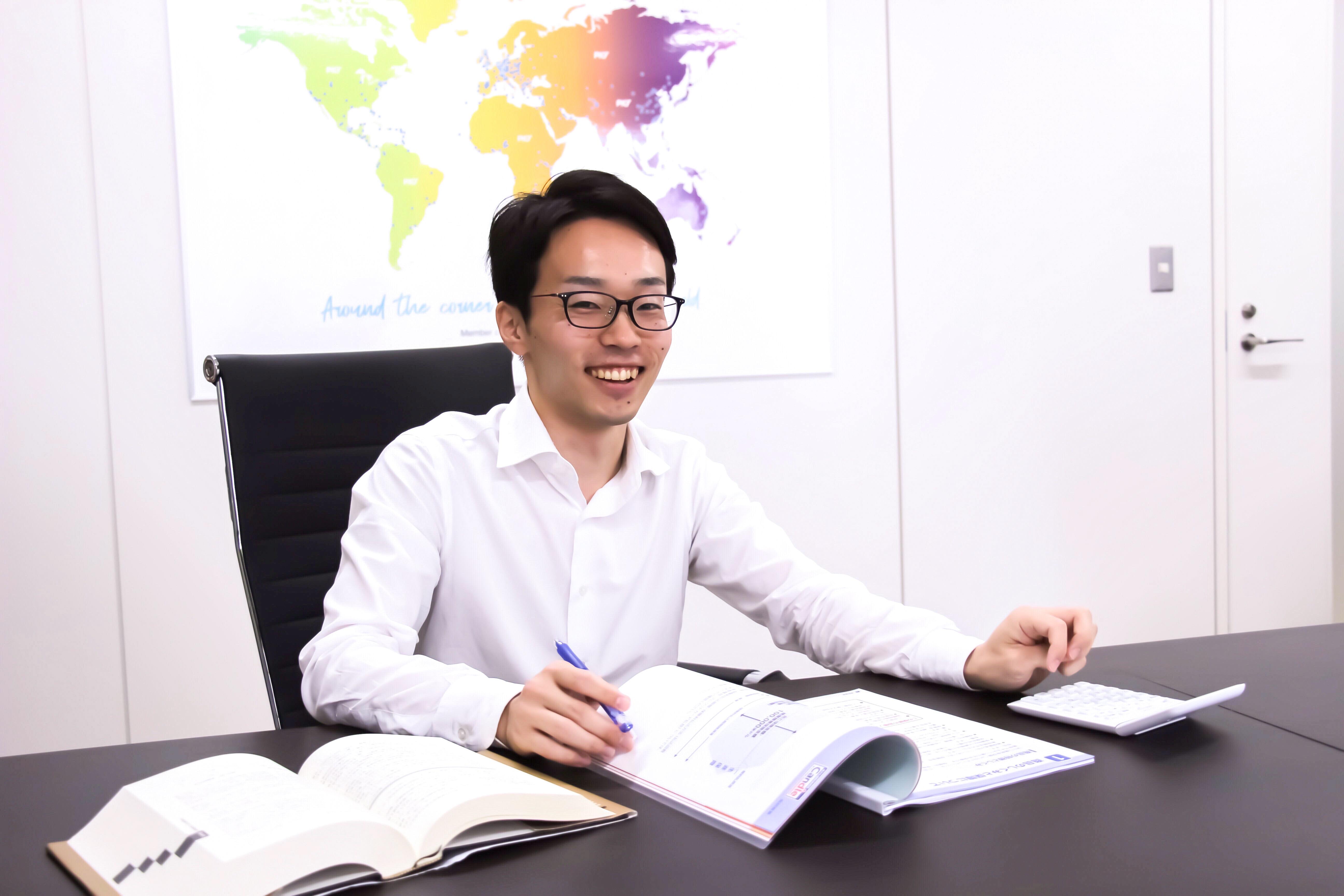 インタビュー:会計税務部S小関・業務を網羅的に経験できる